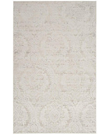 Safavieh Princeton Silver and Beige 4' x 6' Area Rug