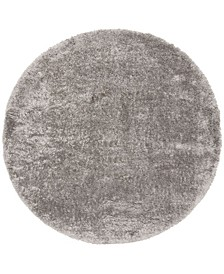 """Royal Silver 6'7"""" x 6'7"""" Round Area Rug"""