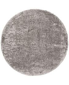 "Safavieh Royal Silver 6'7"" x 6'7"" Round Area Rug"