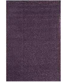 """Safavieh Arizona Shag Purple 5'1"""" x 7'6"""" Sisal Weave Area Rug"""
