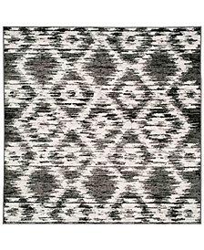 "Safavieh Arizona Shag Aqua 2'3"" x 8' Sisal Weave Area Rug"
