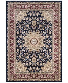 "Safavieh Atlas Navy and Red 5'3"" x 7'7"" Area Rug"