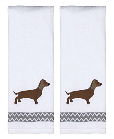 Dachshund 2 Piece Hand Towel Set