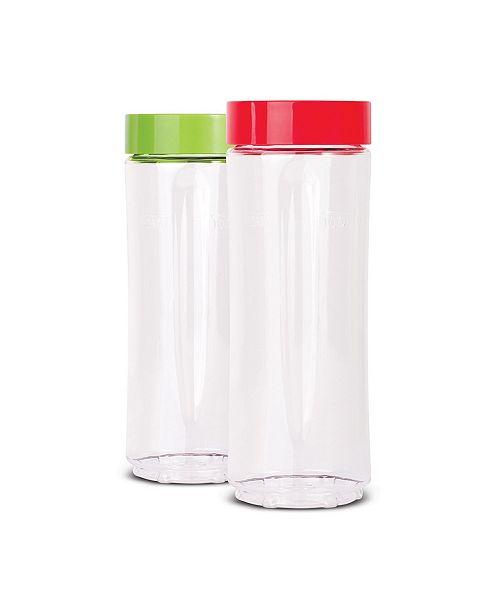 EuroCuisine Euro Cuisine GYM2  Set 2 BPA bottle