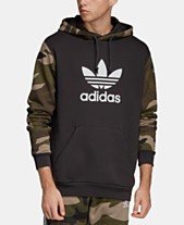 f10728464bfd adidas Men s Originals Colorblocked Camo Hoodie