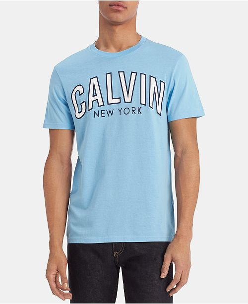 Calvin Klein Jeans Men's Calvin Outlined Logo Graphic T-Shirt