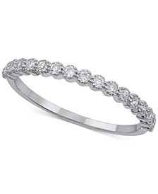 Diamond Band (1/5 ct. t.w.) in 14k White Gold