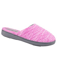 Isotoner Women's Andrea Clog Slipper, Online Only