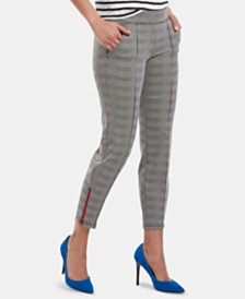 HUE® Glen Plaid Loafer Skimmer Leggings