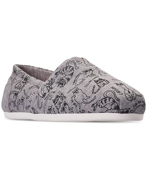3999338f1609 ... Skechers Women s BOBS For Dogs and Cats Plush - Meow Moods Slip-On  Casual Sneakers ...