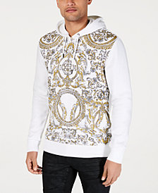I.N.C. Men's Foil Graphic Hoodie, Created for Macy's