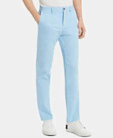 Calvin Klein Men's Slim-Fit Performance Stretch Chinos