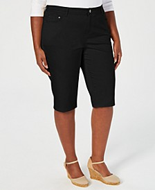Plus Size Shorts, Created for Macy's