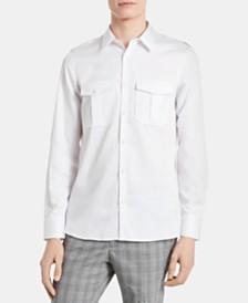 Calvin Klein Men's Classic-Fit Utility Shirt