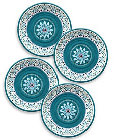 Moroccan Medallion Dinner Plate, Set of 4
