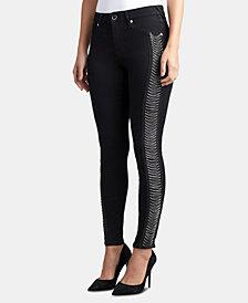 True Religion Jennie Curvy-Fit Chain-Trim Jeans