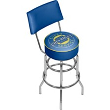 Chevrolet Swivel Bar Stool with Back - Super Service
