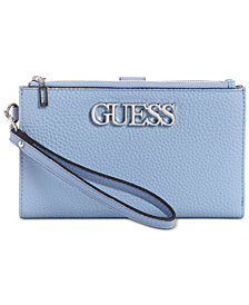 GUESS Uptown Chic Double Zip Wallet