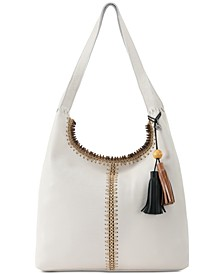 Huntley Crochet-Trim Hobo