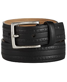 Tommy Hilfiger Men's Textured Belt