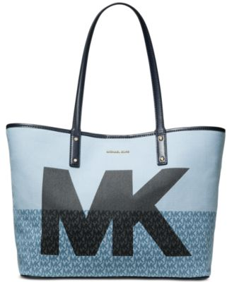 Carter Denim MK Open Tote, Created for Macy's