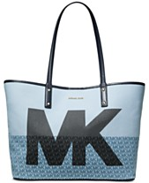 3c5917dd27f4 MICHAEL Michael Kors Carter Denim MK Open Tote, Created for Macy's
