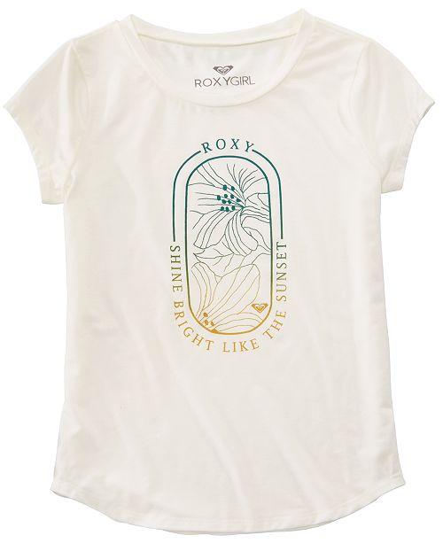 Roxy Big Girls Shine Bright Graphic T-Shirt