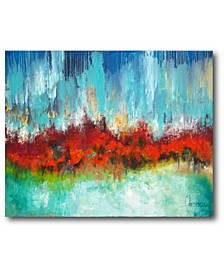 """River of Flame Gallery-Wrapped Canvas Wall Art - 16"""" x 20"""""""