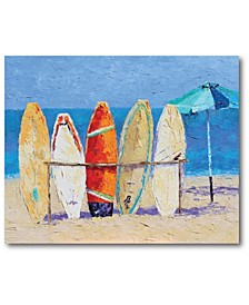 "Resting on The Beach Gallery-Wrapped Canvas Wall Art - 16"" x 20"""
