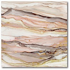 """Rose Gold Gallery-Wrapped Canvas Wall Art - 20"""" x 20"""""""