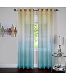 Rainbow Single Grommet Window Curtain Panel, 52x84