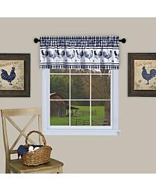 Barnyard Window Curtain Valance, 58x14