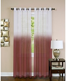 Essence Window Curtain Panel, 52x84