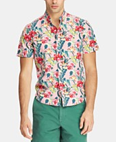 b816ca7b0423 Polo Ralph Lauren Men s Classic-Fit Tropical Shirt