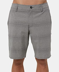 "O'Neill Men's Locked Stripe 20"" Hybrid Short"