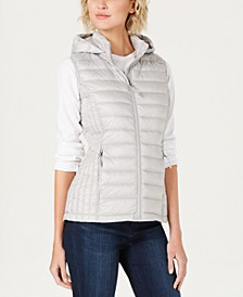 Hooded Packable Down Puffer Vest