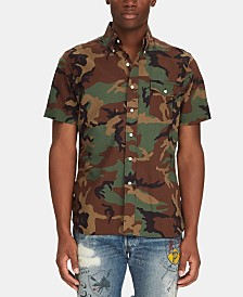 Polo Ralph Lauren Men's Classic-Fit Camo Seersucker Shirt