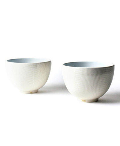 Coton Colors His and Hers Footed Bowl Set/2