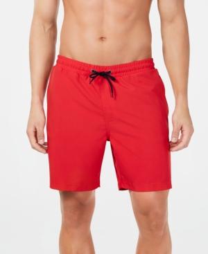 "Men's Quick-Dry Performance Solid 7"" Swim Trunks"