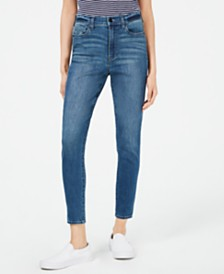 Kendall + Kylie The Push-Up High-Rise Skinny Jeans