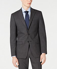 Men's Slim-Fit Stretch Solid Suit Jacket