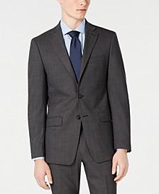 Men's Slim-Fit Stretch Solid Suit Jacket