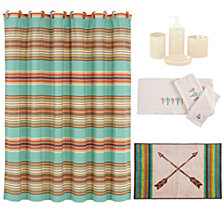 HiEnd Accents 21-Pc. Serape Bathroom Set