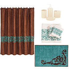 HiEnd Accents 21-Pc. Wyatt Bathroom Set