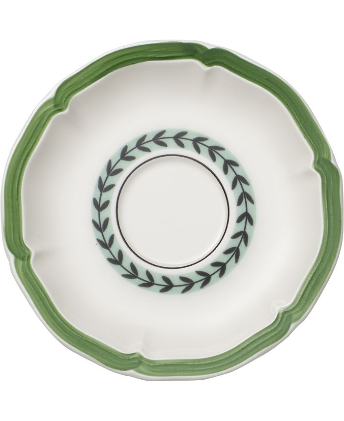 Villeroy & Boch - French Garden Green Lines Breakfast/Cream Soup Cup Saucer