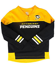 Outerstuff Pittsburgh Penguins Playmaker Pant Set, Toddler Boys (2T-4T)