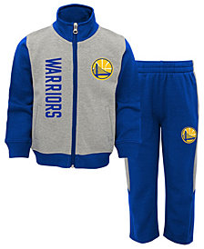 Outerstuff Golden State Warriors On the Line Pant Set, Toddler Boys (2T-4T)