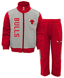 Outerstuff Chicago Bulls On the Line Pant Set, Toddler Boys (2T-4T)