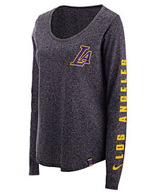 Nike Women's Los Angeles Lakers City Edition Marled Long Sleeve T-Shirt
