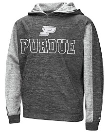 Colosseum Purdue Boilermakers Reflective Hooded Sweatshirt, Big Boys (8-20)